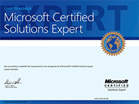 Microsoft Certified Solutions Expert (MCSE)